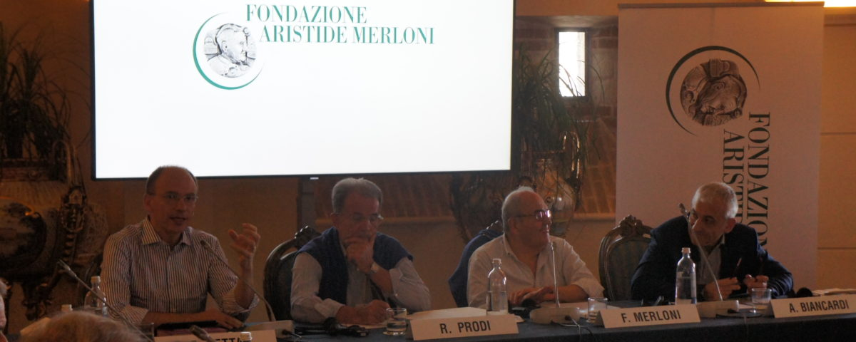Comitato Scientifico della Fondazione Merloni: Letta, Prodi, Biancardi